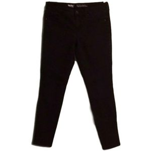 Mossimo Black Mid-rise Jegging Skinny Jeans
